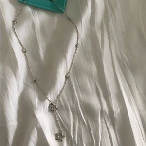 Tiffany's sterling silver star necklace